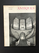 Antiques Magazine October 1961 Features Sagamore Hill, Nyc City Hall Portraits