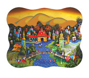 Davici Wooden Whimsy Jigsaw Puzzle. Winter Is Around The Corner 260 Pcs.