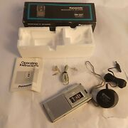 Rare Panasonic Rn-007 Microcassette Recorder - Does Not Function - Very Clean