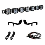 For Ford F-250 Super Duty 17-19 Light Bar Kit Front Bumper Mounted Xl Series