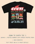 Travis Scott Down To Earth Tee 1 Medium And Cacti Slides Small