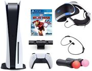 Playstation Console And Playstation Vr Bundle - Ps5 Disk Version With Wireless