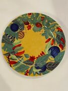 """Laure Japy - Piments - 12"""" Charger Plates Set Of 8 - Limoges - Rare"""