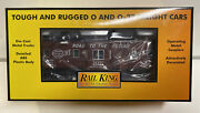 Mth Rail King O Scale Rtr Nyc New York Central Bay Window Caboose 20391