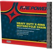 Fire Power Mx Atv Motorcycle X-ring Chain 530 Pitch 100 Links 530fpx-100