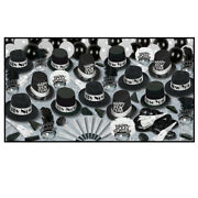 Grand Deluxe Silver New Years Eve Party Kit-50 | Kit For 50