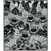 Silver Bonanza New Years Eve Party Kit For 100