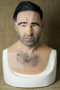 Silicone Mask Bruce Halloween Masks Quality Pro Realistic, Old Man Hand Made