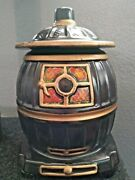 Mccoy 1963 Pot Belly Stove Cookie Jar In Good Condition 0236 Usa