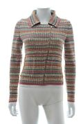 Multicoloured Knitted Cotton Jacket- 2017 Coco Cuba Cruise