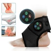 Electric Massager Feet Brace Compression Air Heating Pain Vibration Foot Machine