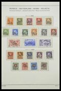 Lot 33252 Stamp Collection Switzerland Service 1922-1982.