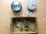 Antique Clock Parts In Box Marked Looping Alarm From Clockmakers Spares R16