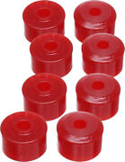 Energy Suspension Sway Bar End Bushings Red For Polaris Rzr 800/s 70.7005r