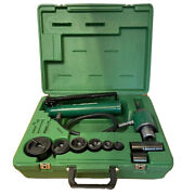 Greenlee 7306sb Hydraulic Knockout Knock Out Punch Driver Set 1/2 - 2