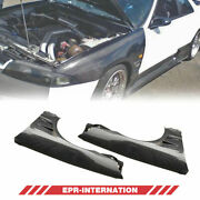 For Nissan Skyline R33 Gts Spec 1 Carbon Glossy Bn Style Front Fender