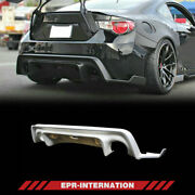 Frp Unpainted For Toyota Ft86 Brz Ver 1 Rb Style Rear Diffuser Under Lip