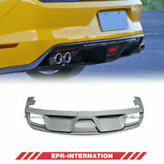For Ford 2015 Mustang Gt350r Style Frp Unpainted Rear Diffuser Bumper Splitter
