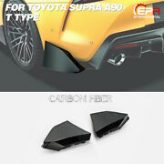 Carbon Fiber Rear Spat Body Accessories For Toyota 19+ Supra A90 T Type