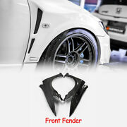 For Honda Civic Fd2 Carbon Fiber Feeds Style Front Fender Vented Body Kits 2pcs