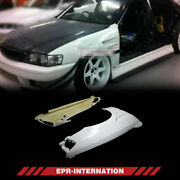 Frp Unpainted Dm Style Fit For Toyota 100 Chaser Front Vented Fender +1500mm