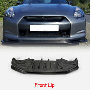 For 09-12 Nissan R35 Early Nis Craft Style Carbon Front Lip Exterior Body Kits