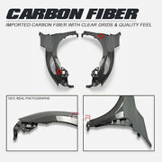 Epa Style Carbon Glossy Front Fender Mudguards Body Kits For Honda Civic Fk8 Tyr