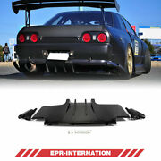 Ts Style Carbon Glossy For Nissan R32 Gtr Type 2 Rear Diffuser Under Spoiler