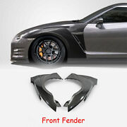 For Nissan Gtr R35 2017 My17 Oe Style Carbon Fiber Front Fender Kits