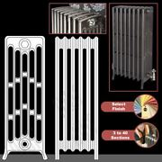 The Mayfair 6 Column 960mm High Cast Iron Radiators 3 To 40 Sections Wide