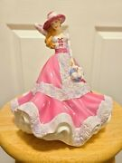 Royal Doulton Figurine Just For Youandnbsp Pretty Ladies Hn 5140