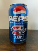 Unopened 2006 Pepsi Can - Factory Error Empty Can - Nfl - Super Rare Collectible