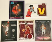 2018-19 Panini Collin Sexton Jersey Patch Rc Encased Obsidian Optic Rated Rookie