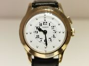 Vintage Very Rare Menand039s Watch For Blind People Huberarsa August Raymond