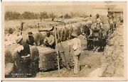 Weighing Cotton In West Point Ms Rp Postcard 1908 Black Americana
