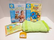 Leap Frog Little Touch Leap Pad Lot - 3 Books And 3 Cartridges Extra Pillow