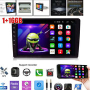 8'' 1din Hd Android 9.1 Car Stereo Mp5 Lcd Player Wifi Radio Gps Bluetooth