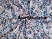 Block Printed Fabric, Cotton Fabric By The Yard - Quilting Fabric Soft Cotton