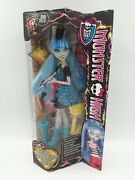 Monster High Freaky Fusion Ghoulia Yelps Doll Cbp36 - Htf New 2014