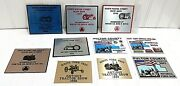 Plow Power And Antique Tractor Show Exhibitor Plaque Lot Indiana Exibits Fulton Co