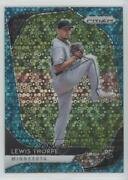 2020 Panini Prizm Tier Iii Quick Pitch Teal Donut Circle /15 Lewis Thorpe Rookie