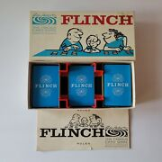 Vintage 1963 Flinch The Famous Card Game By Parker Brothers