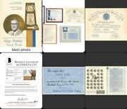 John Wooden Retirement Party 5awards And Documents Signed By Kareem Abdul-jabbar