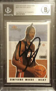 Dwyane Wade Signed 2003-2004 Fleer Tradition Rookie Card 265🔥beckett Authentic