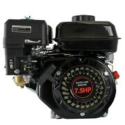 4 Stroke Gas Engine 7.5hp 210cc Horizontal 170f Pullstart For Honda Gx160 Ohv Us