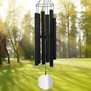 Large Wind Chimes Outdoor Deep Tone45inch Sympathy Wind Chimes 6 Tubes Tuned...