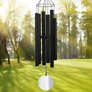 Large Wind Chimes Outdoor Deep Tone,45inch Sympathy Wind Chimes 6 Tubes Tuned...