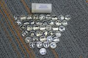 1999-2008 Us Statehood Uncirculated Quarters Silver 40-coin Roll