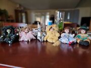 Lot Of 6 Marie Osmond Tiny Tots Porcelain Doll Wizard Of Oz 2000