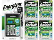 Energizer 1 Hour Charger + 12x Aa 2300mah + 8x Aaa 800mah Rechargeable Batteries